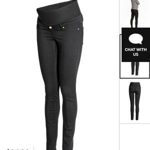 H&M MAMA Maternity Slim Fit Pants